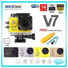 MAXGear NEW SJ7000 WiFi 1080P Full HD 14MP Action Camera NOVATEK 96655