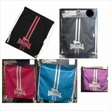 2X Lonsdale (UK) Draw String Bag ( Sport Fitness Gym)