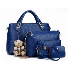 Sweety Girl Korean Leather 4 in 1 Bags Women Fashion Handbags