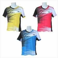 RCL TS4290 Badminton T-shirt (Yellow/Red/Blue)