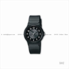 CASIO MQ-24-1B3 STANDARD His & Her resin strap black *Match*