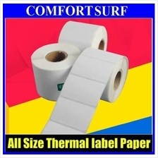 Quality Barcode Label Thermal Paper - ALL Size for Thermal Printer