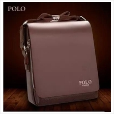 Polo Fanke Men Genuine Leather PU Shoulder Bag Messenger Bags Handbag
