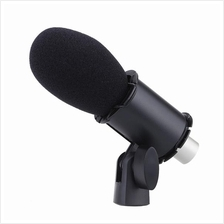 Takstar Condenser Microphone Mic with Shockmount Holder Windscreen