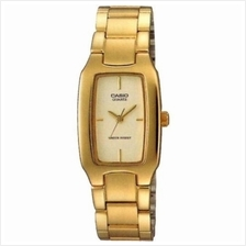 Casio Original  & Genuine Analog Men''s Gold Stainless Steel Band Watch LTP-116