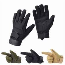 Protective Full-finger Dual Back Gloves Mountain Bike Hard Outdoors Sp