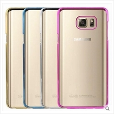 Samsung Galaxy Note 2 3 4 5 S6 S7 Edge J5 J7 Transparent NEON Case