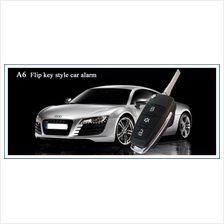 Car alarm system with Sport Audi A6L flip key style for all Car model