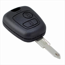2 Button Blank Remote Key Shell For Peugeot 206 205 405