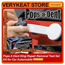Pops A Dent Ding Repair Removal Tool Set Kit for Car Automobile