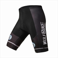 WOLFBIKE Men's Bike Bicycle Cycling Riding Short Pants 3D Padded Gel