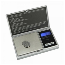 500g/0.1g Pocket Jewelry Gold Weed Digital Scale Silver g/oz/ozt/dwt/c
