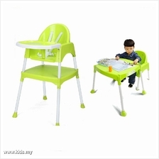 Multipurpose Baby High Chair - Green