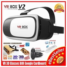 Virtual Reality VR BOX 3D Glasses Smart Phone Google Cardboard Cinema