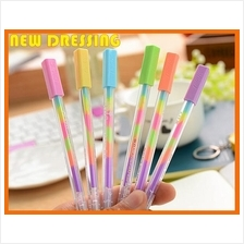 Rainbow Colour Water Pen (One Pen with 6 Colours)