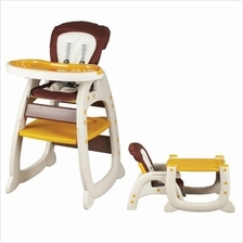 Baby Feeding Folding Adjustable Foldable Writing 3 in 1 High Chair