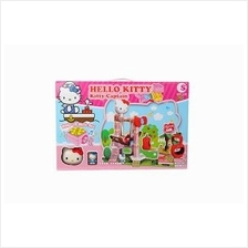 KITTY CAPTAIN LEGO WITH WIND UP MUSIC BOX