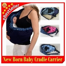 NewBorn Baby Sling Toddler Adjustable Cradle Carrier Feeding Bed Bag