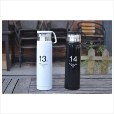 Stainless Steel Travel Mug Tea Water Vacuum Thermos Cup Bottle 500ml