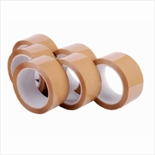 OPP BROWN TAPE 48mm x 100m x 12 ROLLS for Packaging