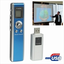 2.4GHz Wireless Transmission Multimedia Presenter with Laser Pointer &..