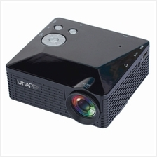 Uhappy U18 60LM Home Theater 320*240 Mini Projector with Remote Contro