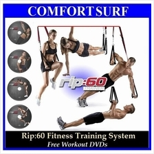 Latest Rip 60 Fitness Training System Total-Body Transformation +GIFT