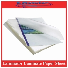 Laminator Laminate Paper Sheet For Pouches Film A4 / A3 - 2x80mic