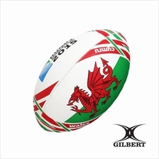 Gilbert RWC 2015 Flag - Wales Rugby Ball  (RUB 033)