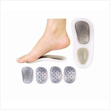 3/4 Arch Orthotic Insole 3/4 Massage Flat Foot Arch Support