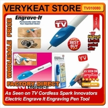 As Seen on TV Spark Innovators Electric Engrave It Engraving Pen Tool