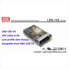 Meanwell Mean well LRS-150-24 AC to DC 24v 6.5a 150w switching-power supply un