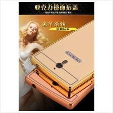 OPPO FIND 7 7A X9007 MIRROR TYPE Metal Bumper with Back Case Cover