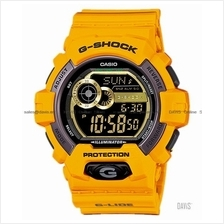 CASIO GLS-8900-9 G-SHOCK G-LIDE low temperature resin strap yellow