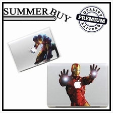 Apple Macbook Pro Air Iron Man Color Sticker for Skin Removable