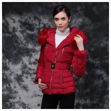 JF T18311 Europe Fashion Hooded Winter Coats - 4 Colors
