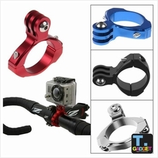 Motorcycle Bike Bicycle Aluminum Handlebar Mount Tripods- Gopro/ SJCAM
