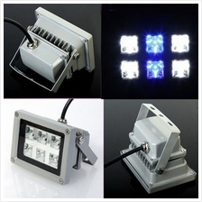 18W LED Aquarium Flood Light White Blue Bright for Coral Reef Fishes