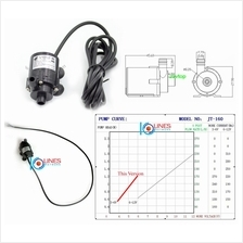 3.5V~6V 5V DC mini water pump aquarium solar fountain 170L/h Submersible CPU C