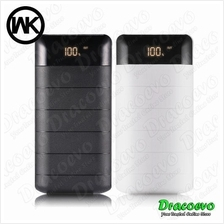 Solar Power Bank 20000 mAH Portable Dual USB Solar Battery Charger LED