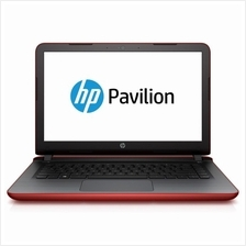 HP Pavilion 14-AB025TX Notebook Red