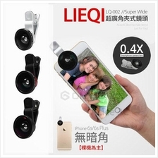 LieQi 0.4X Ultra Super Wide Angle Lens Selfie Camera Kit Phone Tablet