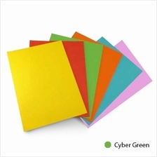 Fluorescent Colour A4 80gsm Paper (Cyber Green) (Item No: C01-04 CY.GR