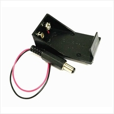 Electronic Component - 9V Battery Holder with 2.1mm DC plug