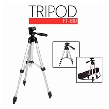 4 Section Rubber Legs Camera/Mobile Gadgets Tripod With Maximum 1060mm