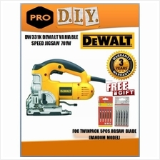 DW331K DEWALT VARIABLE SPEED JIGSAW