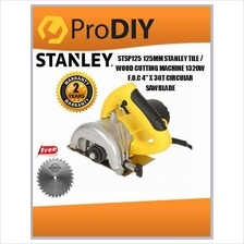 STSP125 125MM STANLEY TILE, WOOD CUTTING MACHINE (STSP 125)