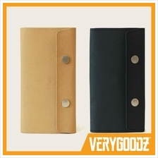 MUJI Concept Durable Kraftpaper® Stationery Wallet with Button