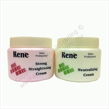500ml Rene Hair Straightening Cream + Neutralizer Cream (FREE Serum)
