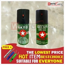 (*With Free Gift ) Nato Pepper Spray for Self Defense (40ml)